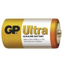 Baterie GP Ultra Alkalická - LR14 / 1,5V