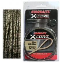 Olověná šňůra X-Core Gravel+jehla 25m