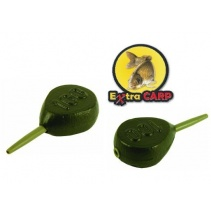 Extra Carp Lead IN-LINE FLAT PEAR 60g