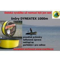 DYNEATEX - žlutá  135m teflonová úprava