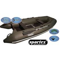Sportex člun - Shelf pevná podlaha se středovým kýlem