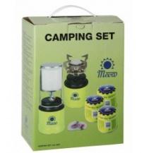 Camping set piezo