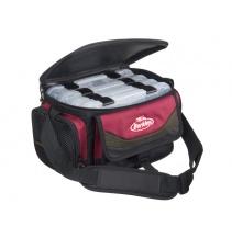 Přívlačová taška Berkley SYSTEM BAG 2015 RED-BLACK M