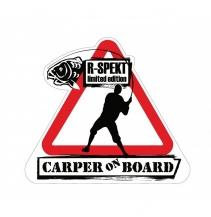 SAMOLEPKA R-SPEKT CARPER ON BOARD
