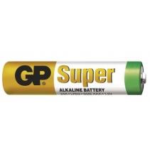 Baterie LR03 GP SUPER - veľkosť AAA - Balenie 6+2 zdarm