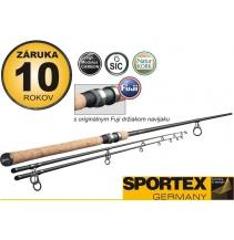 Rybářský prut SPORTEX - EXCLUSIVE Barbel - dvoudílný