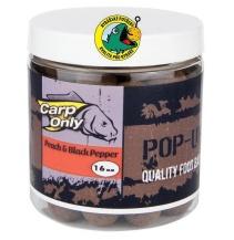 Plovoucí boilies CARP ONLY Peach & Black Pepper 100g