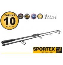 Rybářský prut - SPORTEX - Brillant Carp V2 - Dvoudílný