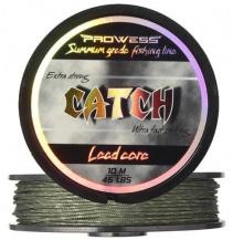 Olověná šnůra CATCH Lead Core 35 lbs, 10m (camo zelená)
