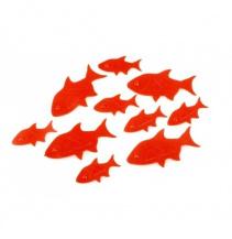 Plast. rybky Prowla Bait Flags Small 30ks, Výprodej!