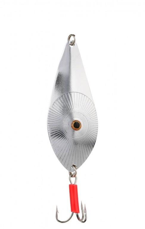 Třpytka - GOLDEN EYES vel. 3 / 24 g / 7.5 cm - Stříbrná