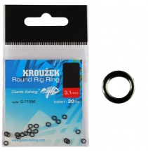 Kroužek Round Rig Ring 2.0mm/20ks