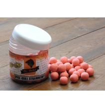 Dr. Baits Pop-up Spice krill strawberry 50g