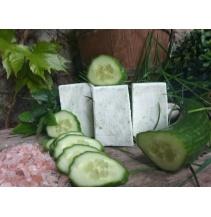 Okurkové solné mýdlo s mandlovým olejem 100 g