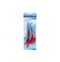 Mořský návazec - BELONA RIG 12cm - háček: 3x1/0 - modrá