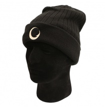 Čepice Gardner Deluxe Fleece Hat black