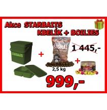 AKCE Starbaits kbelík+popky+boilies 2,5kg