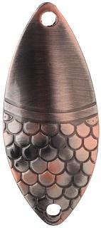 Třpytka - ALGA vel. 1 / 12 g / 5.2 cm - OLD COPPER