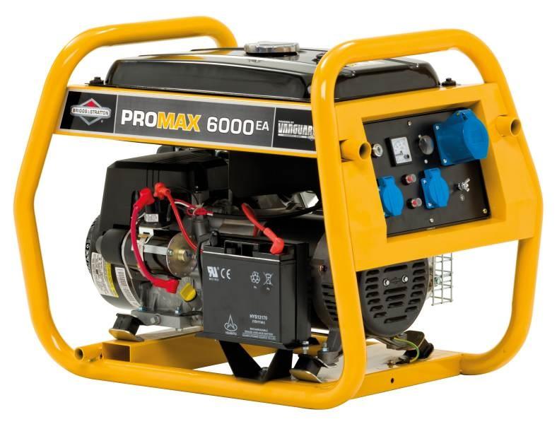 Elektrocentála motorová B&S - Pro Max 6 000 A