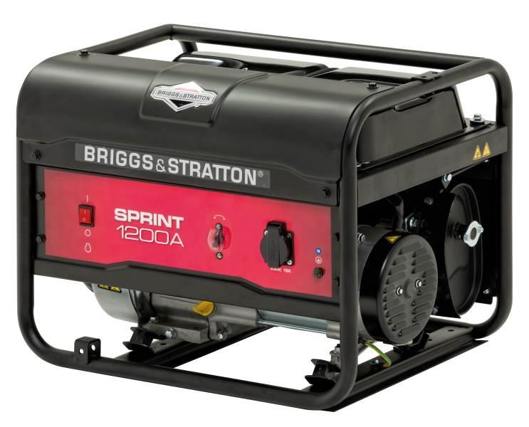 Elektrocentála motorová B&S - Sprint 1 200 A