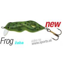 Lovec Frog/žaba 4cm-plávajúci