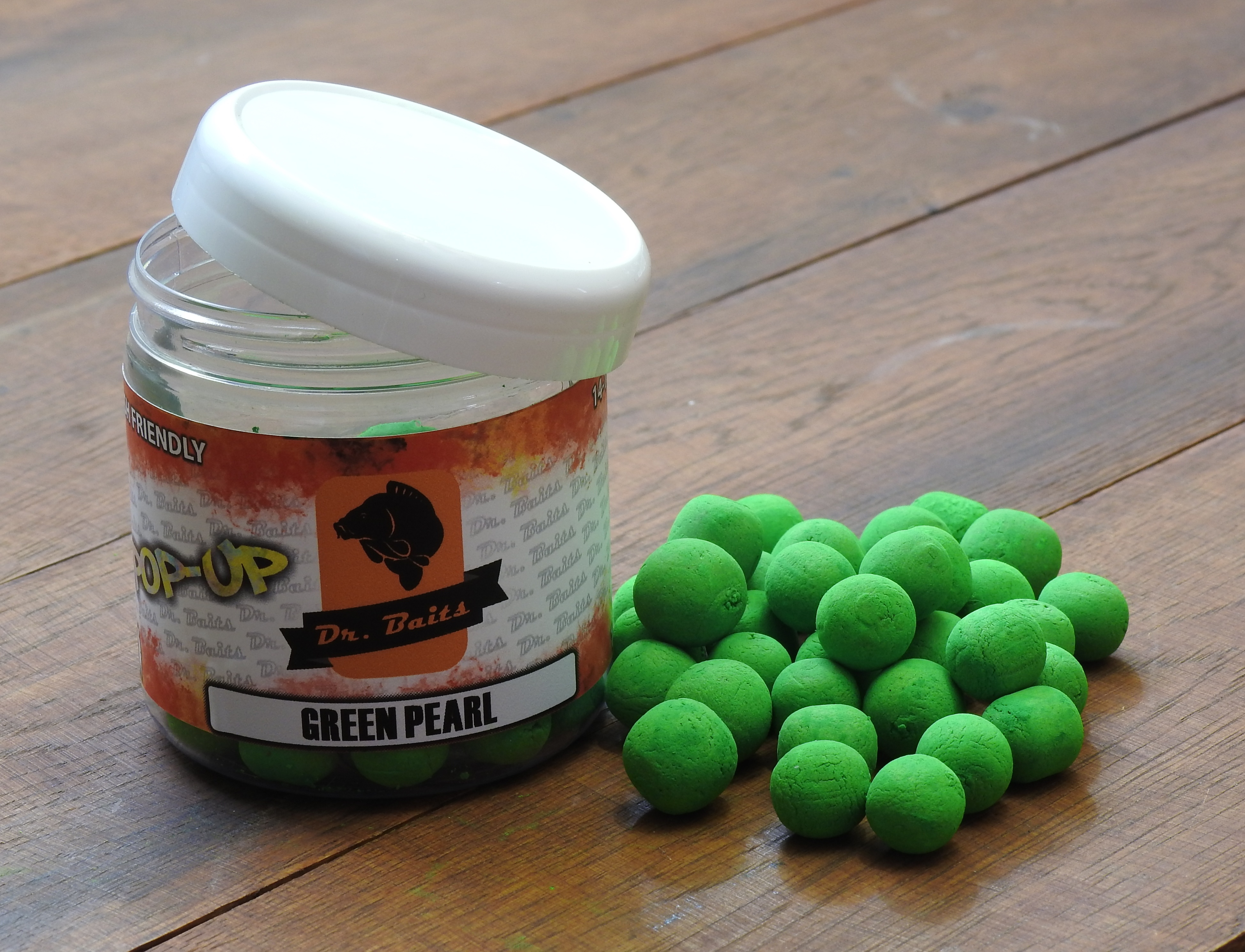 Dr. Baits Pop-up Green pearl 50g