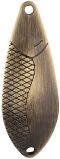 Třpytka - DANCER vel. 1 / 5 g / 3.8 cm - OLD BRASS