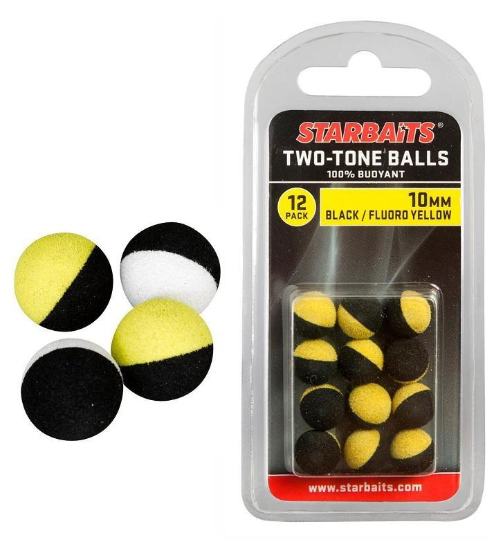 Two Tones Balls 10mm (plovoucí kulička) 12ks
