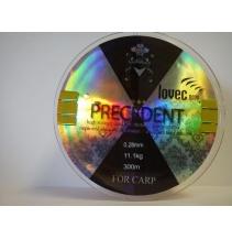 Silon přívlačový precedent - transparentní barva 300m