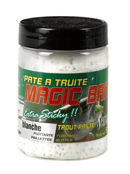 Těsto na pstruhy MAGIC BAIT bílá 50g