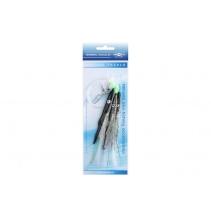 Mořský návazec - BELONA RIG 12cm - háček:  3x1/0 - černá
