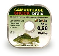 CAMOUFLAGE SHOCK 50 m - 0,28 mm