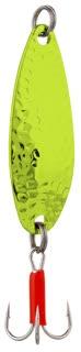 Třpytka - HAMMER vel. 2 / 13 g / 5,5 cm - FLUORESCENT CHARTREUSE