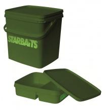 Kbelík hranatý Starbaits (11l+víko+vanička)