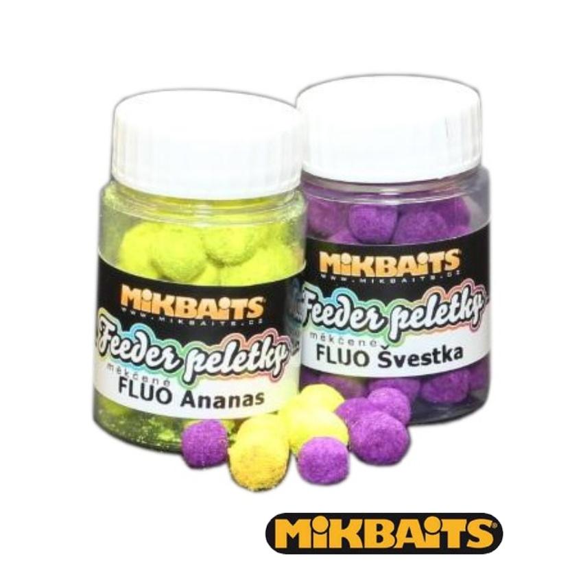 Mikbaits Fluo feeder peletky 30ml