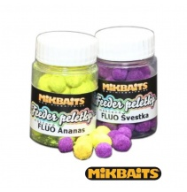 Mikbaits Fluo feeder peletky 30ml