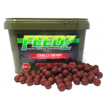 FEEDZ Boilies CHILI HEMP 14mm 4kg