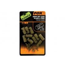 FOX - Insertní vložky do olov EDGES Drop Off Lead Plug And Pins