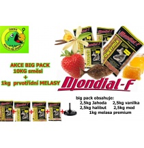 Krmení POWER MIX BIG PACK 10KG + 1L melasy