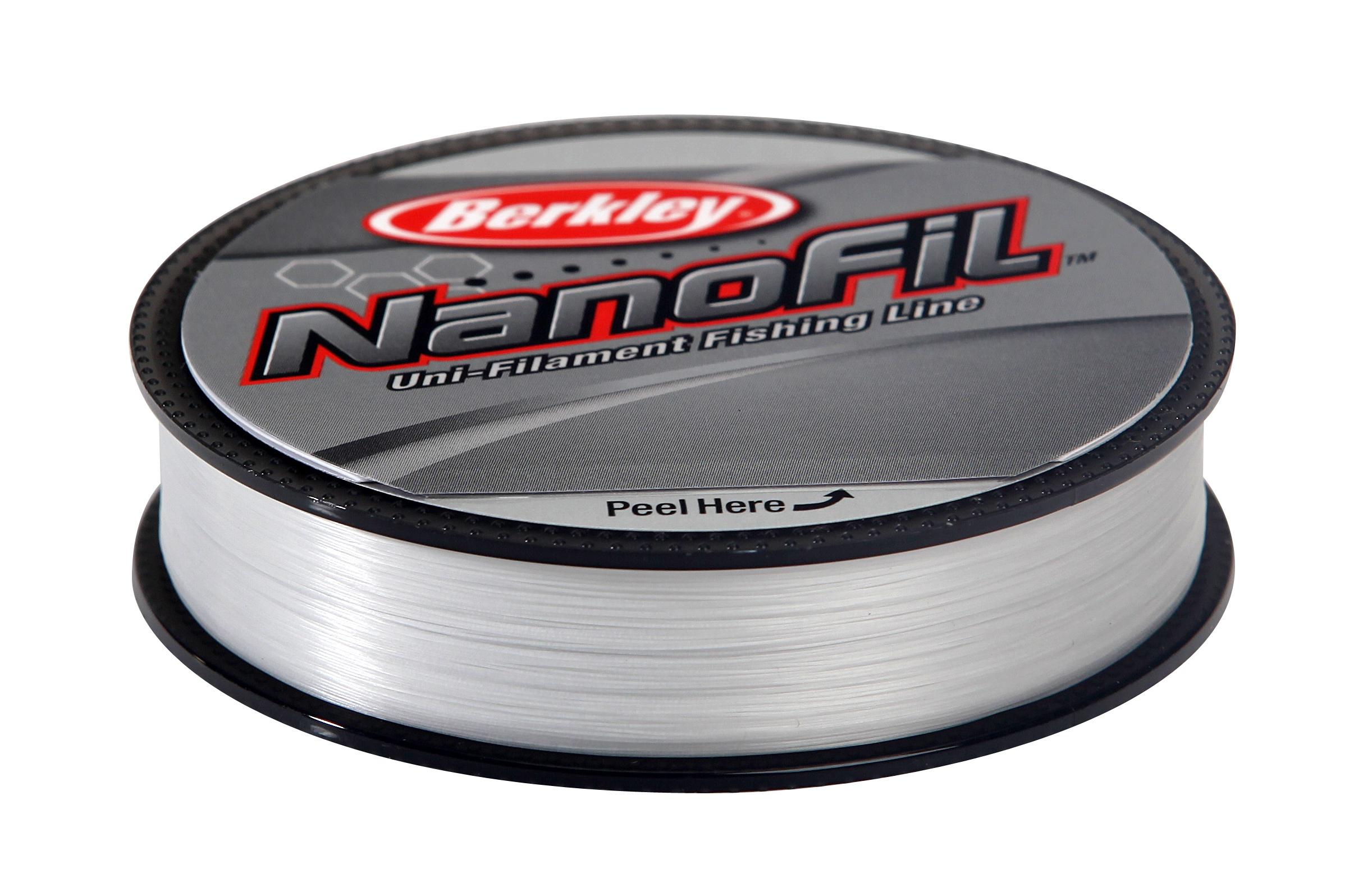 Nanofil Berkley 125m Průhledný