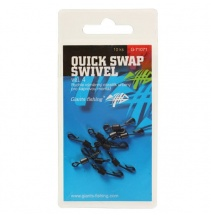 Giants fishing Rychlovýměnný obratlík Quick Swap Swivel, UK.4 (vel.8 EU )/10ks