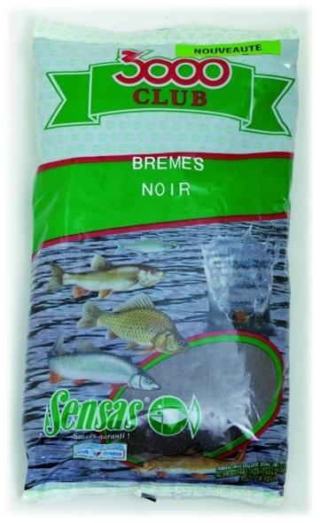 Krmení 3000 Club Bremes Noir (cejn-černý) 1kg