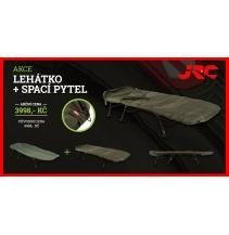 Lehátko JRC Contact Lite (6noh) + spací pytel