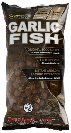 Boilies STARBAITS Garlic Fish 2,5kg