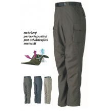 Hike zone kalhoty GEOFF Anderson zelené