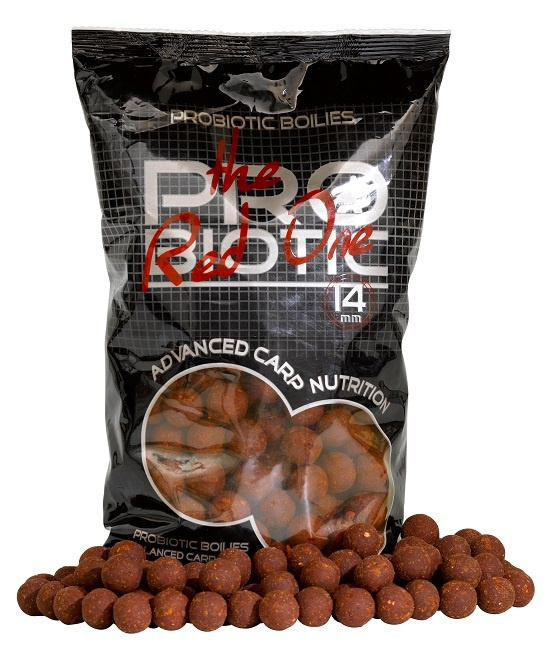 Boilies STARBAITS Probiotic Red One 2,5kg 24mm