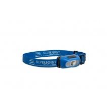 Silverpoint Outdoor Čelovka Spark II X140RC dobíjecí modrá