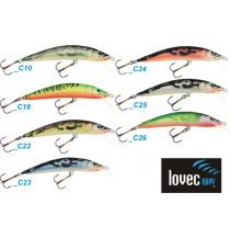 Lovec vobler Pike 7cm-plávajúci