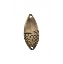 Třpytka - ROACH vel. 3 / 14 g / 6 cm - OLD BRASS