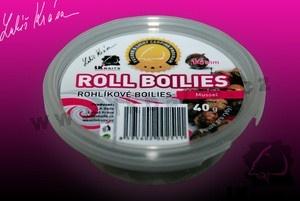 Rohlíkové boilies Mussel 8mm